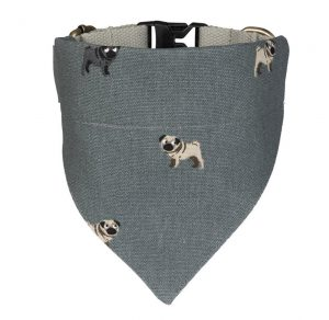 Pug Small Neckerchief Collar