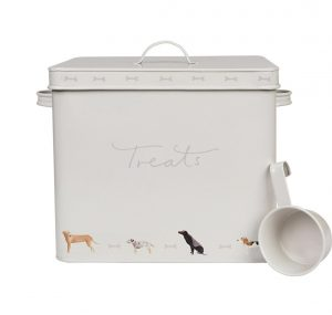 Woof! Treat Tin by Sophie Allport