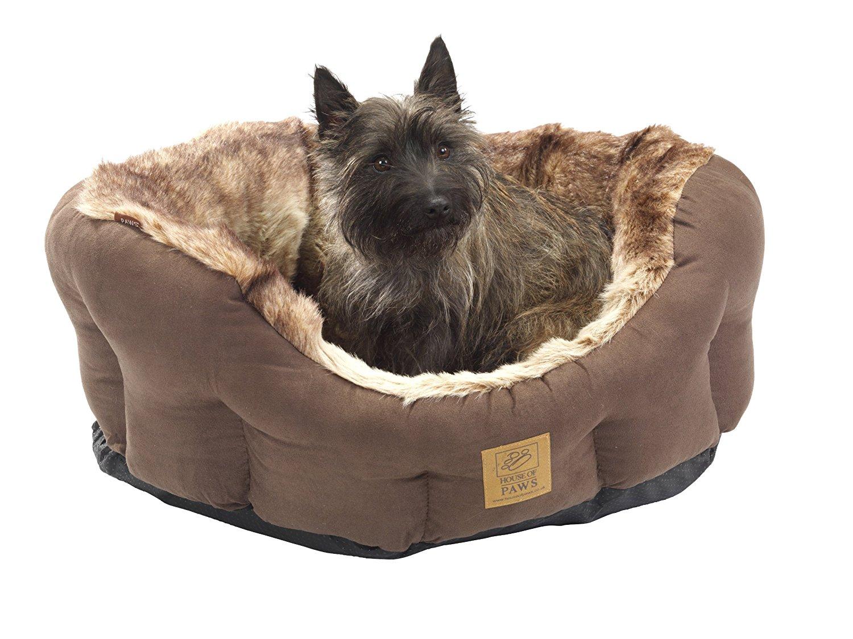 Arctic Fox Faux Fur Luxury Snuggle Bed