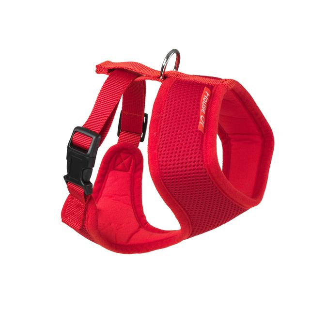 Memory Foam Harness in Red or Blue by House of Paws