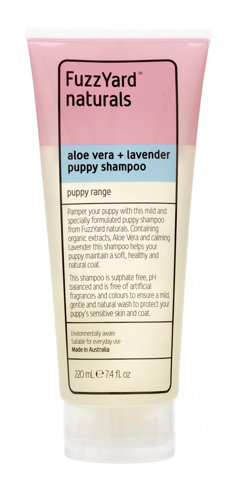 Puppy Aloe Vera & Lavender Shampoo by FuzzYard