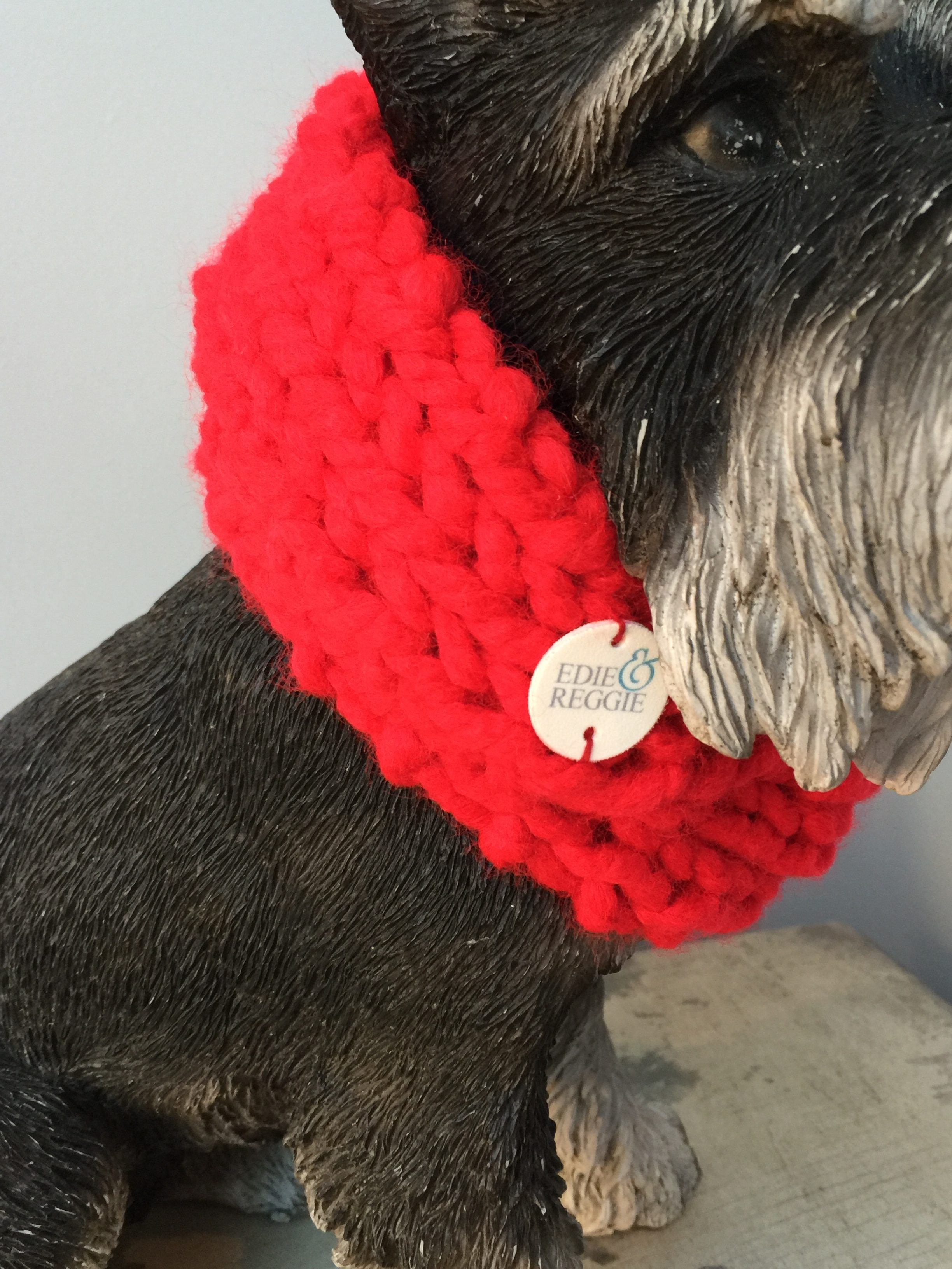 Chunky Snood – Red