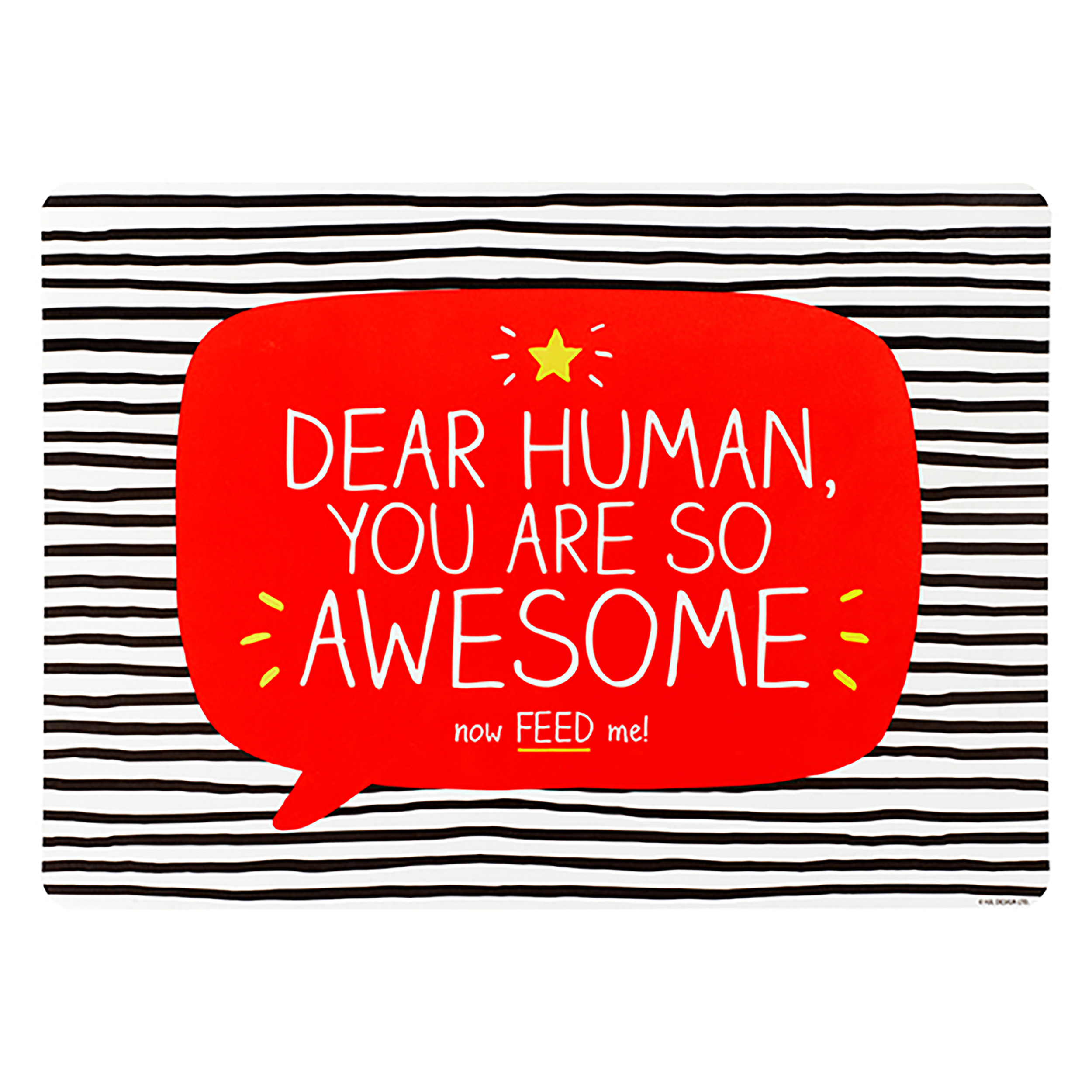 'You Are So Awesome' Pet Feeding Mat