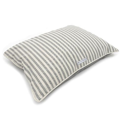 Mutts And Hounds Flint Stripe Brushed Cotton Pillow Bed