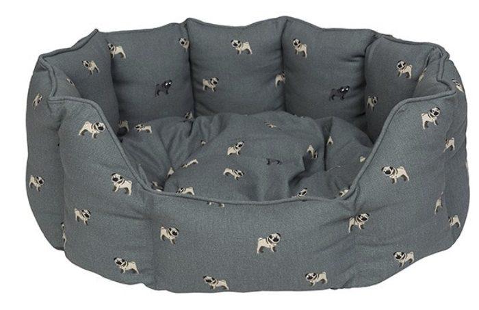 Pug Pet Bed by Sophie Allport