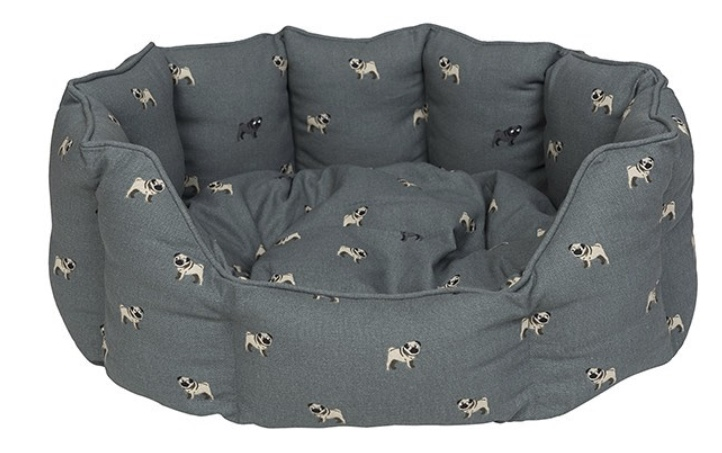 Pug Pet Bed by Sophie Allport