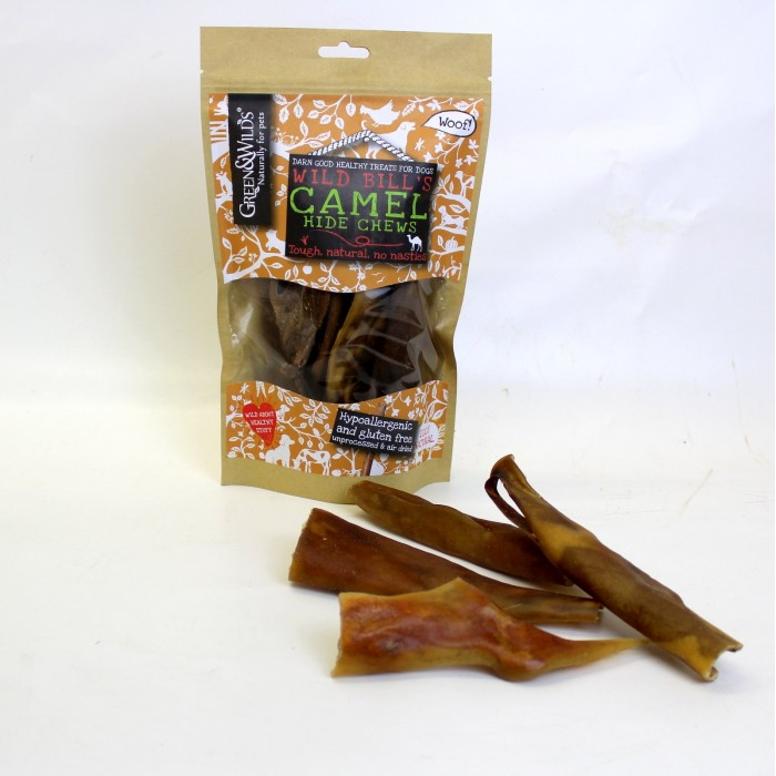 Camel Hide Chews by Green and Wilds