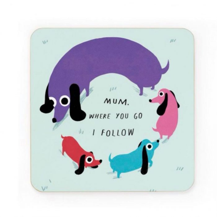 Mum Coaster