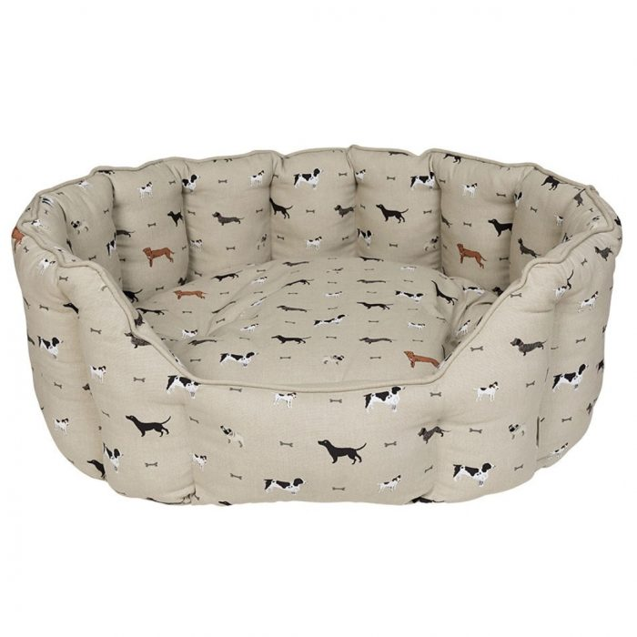 Woof Pet Bed by Sophie Allport