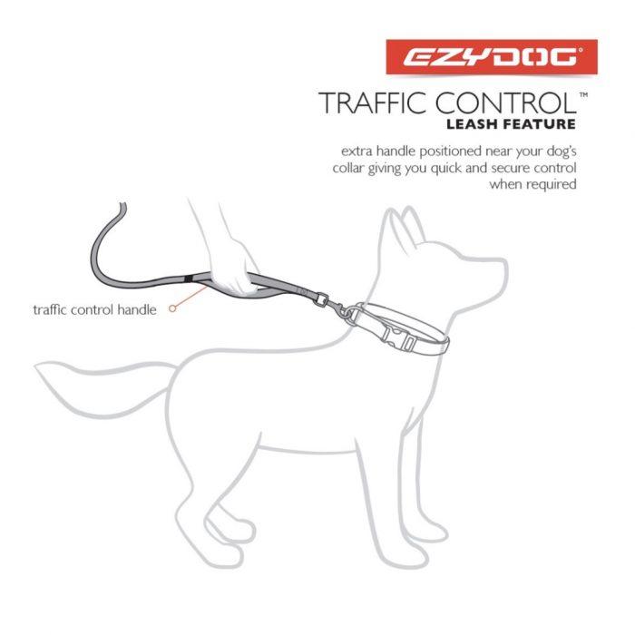 Ezy Dog Zero Shock Lead 48″