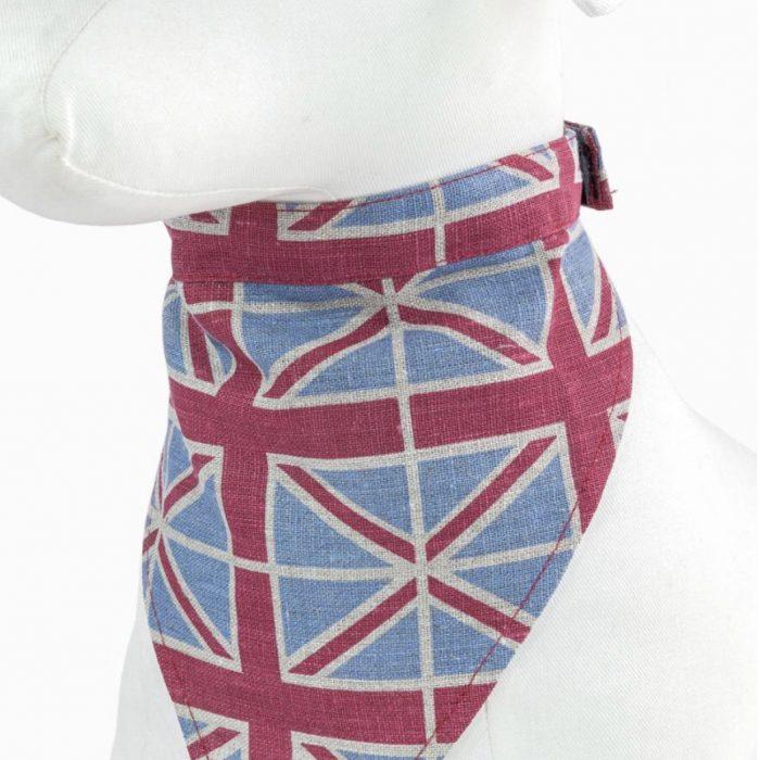 Union Jack Dog Bandana by Purplebone