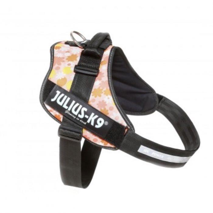 Julius-K9 IDC Power Harness – Pink Floral