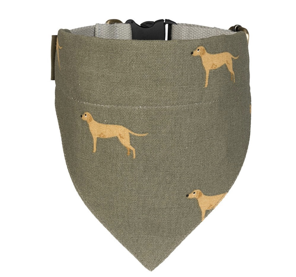 Fab Labs Large Neckerchief Collar by Sophie Allport