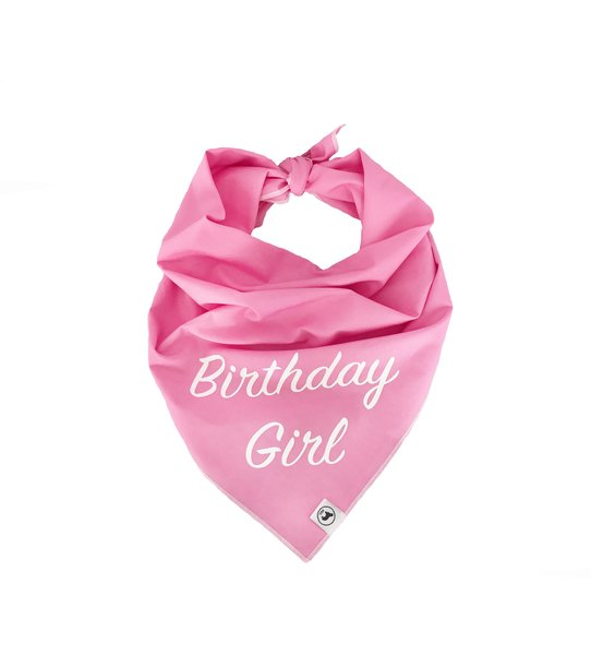 Birthday Girl Neckerchief Bandana