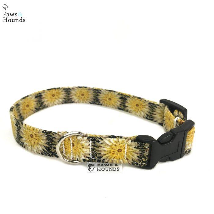 Yellow Thistle Collar
