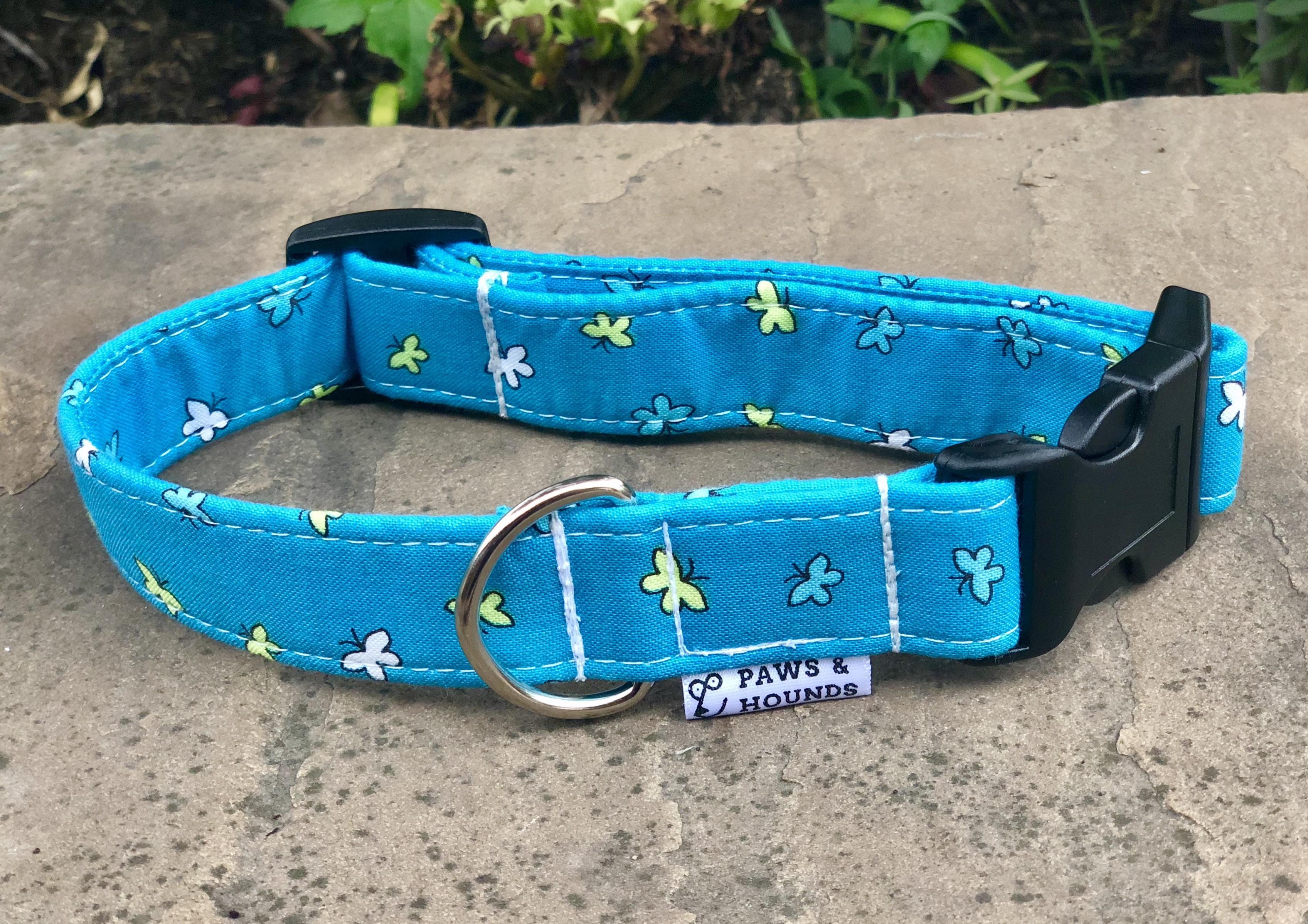 Blue Butterfly Collar