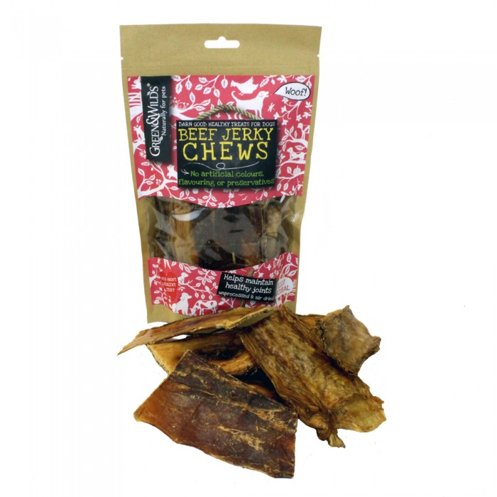 Beef Jerky Chews by Green & Wilds