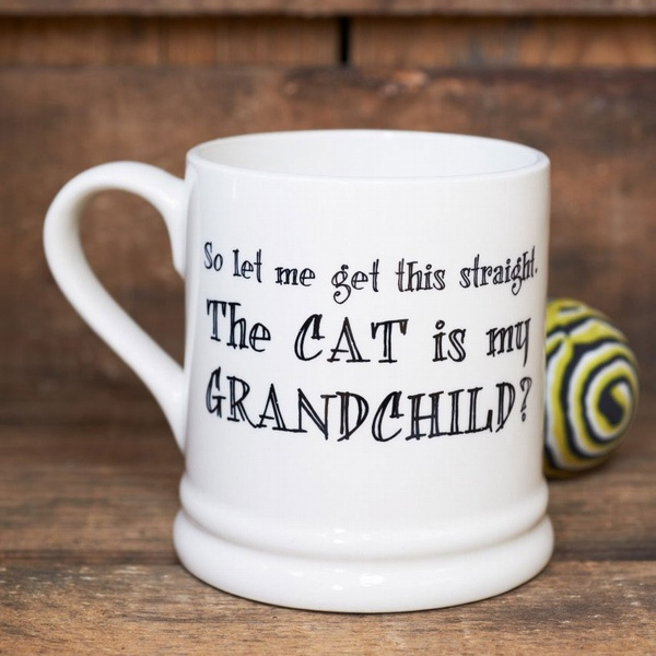 Cat Is My Grandchild Mug