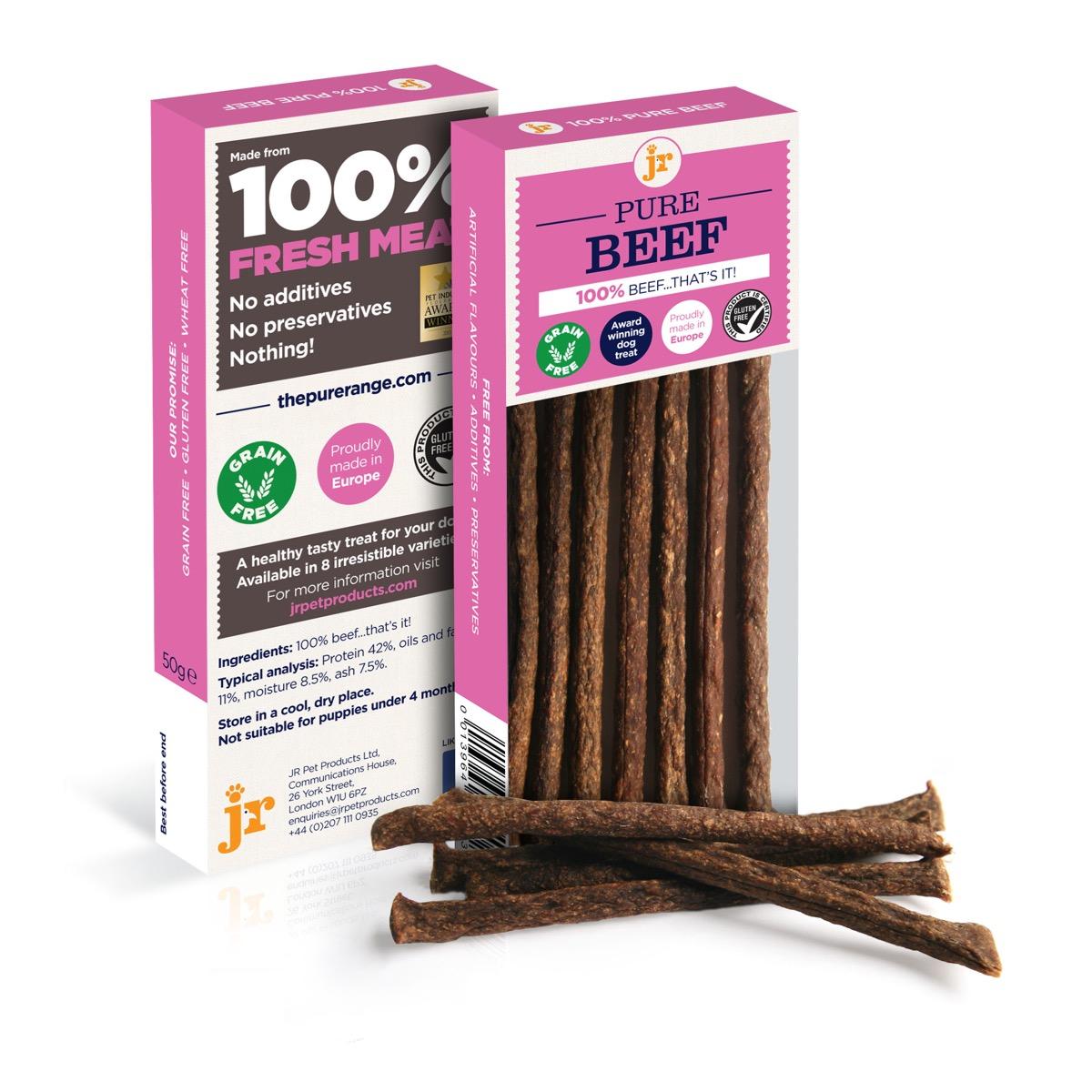 JR Pure Beef Sticks