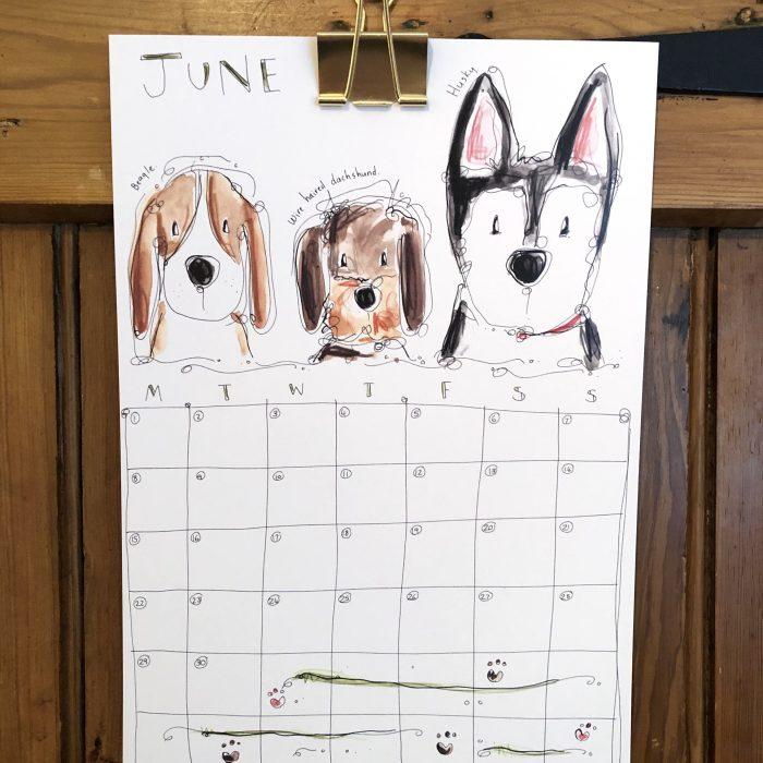 DOGS 2020 Wall Calendar