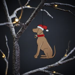 Vizsla Dog Christmas Tree Decoration