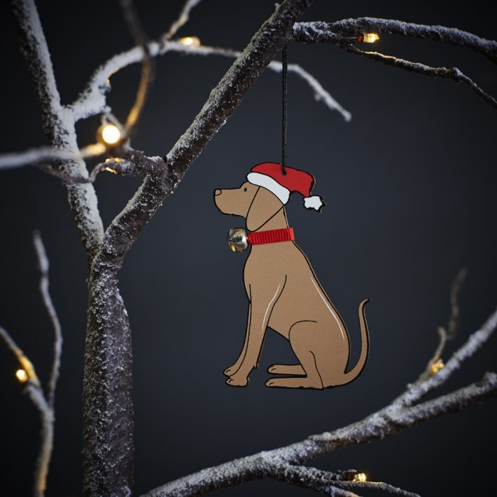 Vizsla Dog Christmas Tree Decoration