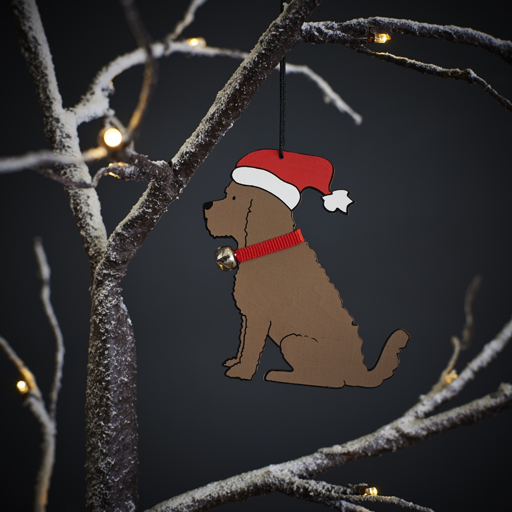 Cockapoo Dog Christmas Tree Decoration