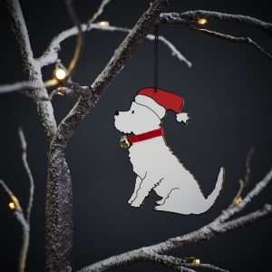 Westie Dog Christmas Tree Decoration