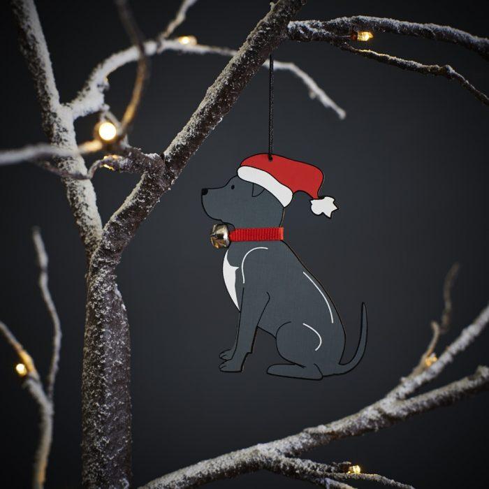 Staffordshire Bull Terrier Staffie Christmas Tree Decoration