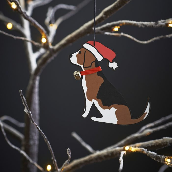 Beagle Christmas Tree Decoration