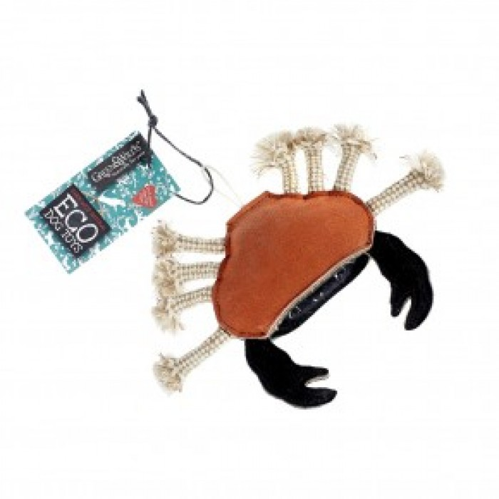 Carlos the Crab Dog Toy