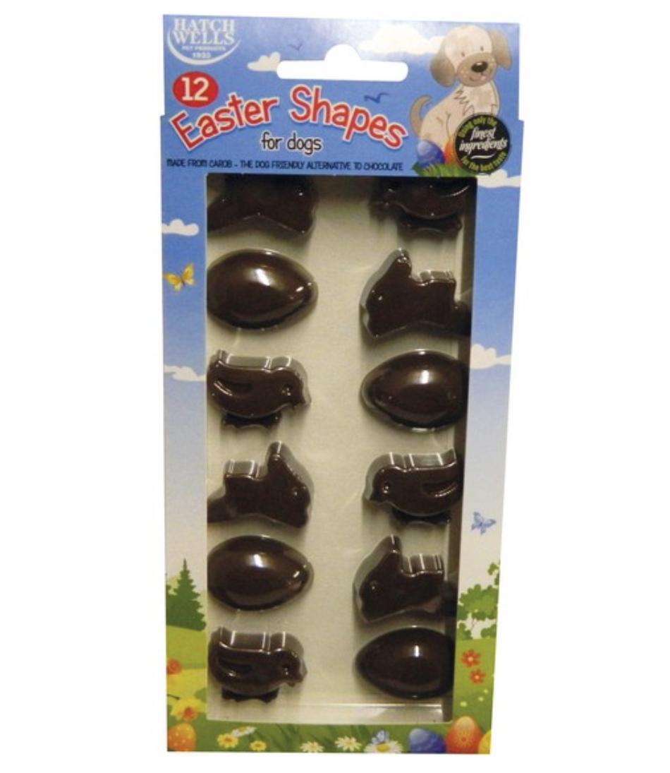 Carob Easter Shapes