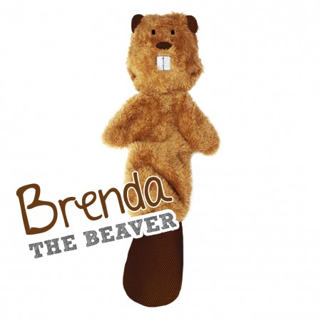 Brenda the Beaver Stuffing Free Soft Toy