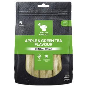 Billy And Margot Dental Treat Apple & Green Tea