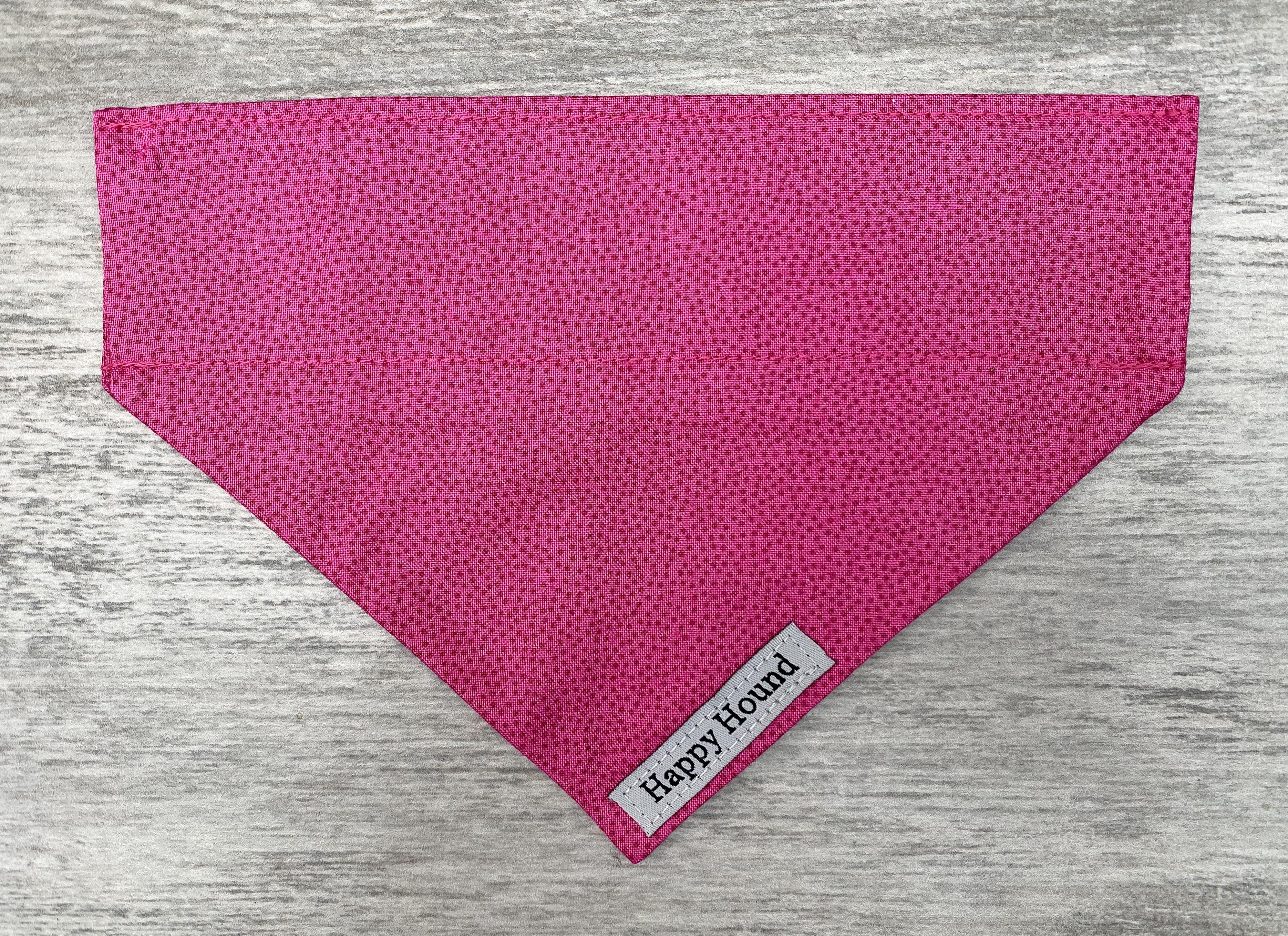 Dog Bandana – Pink Spot