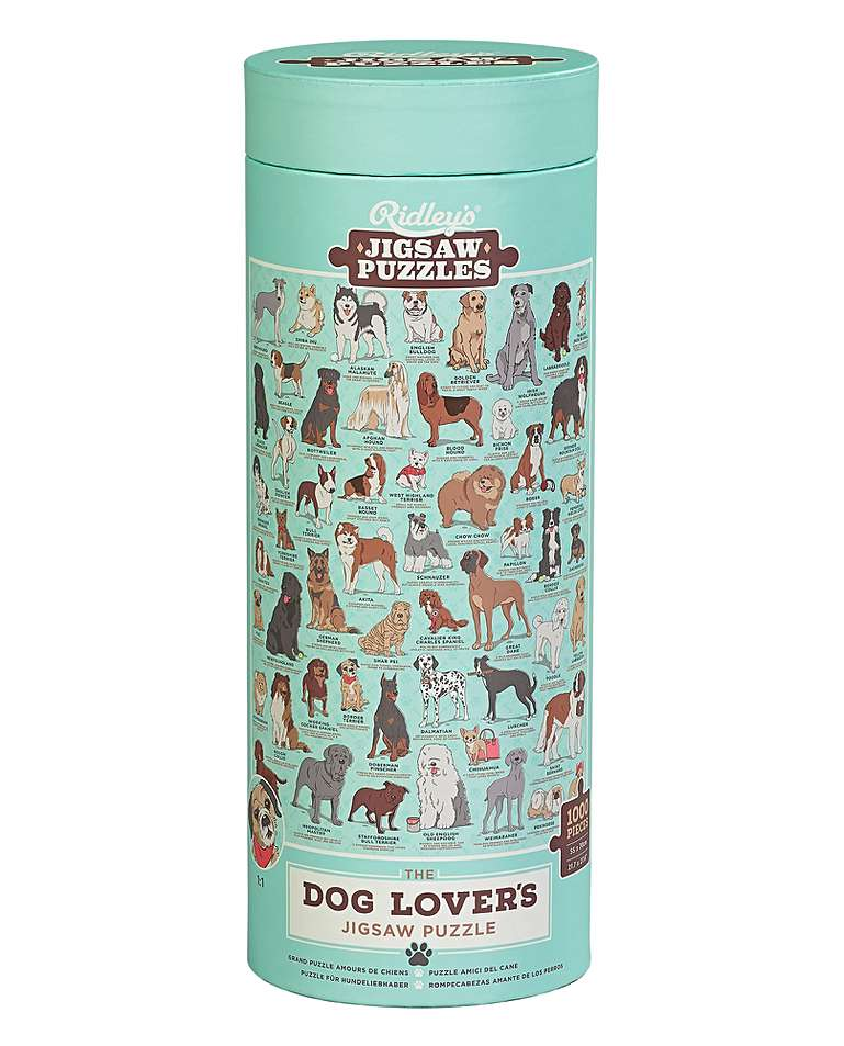 Dog Lovers Dog 1000 Piece Jigsaw