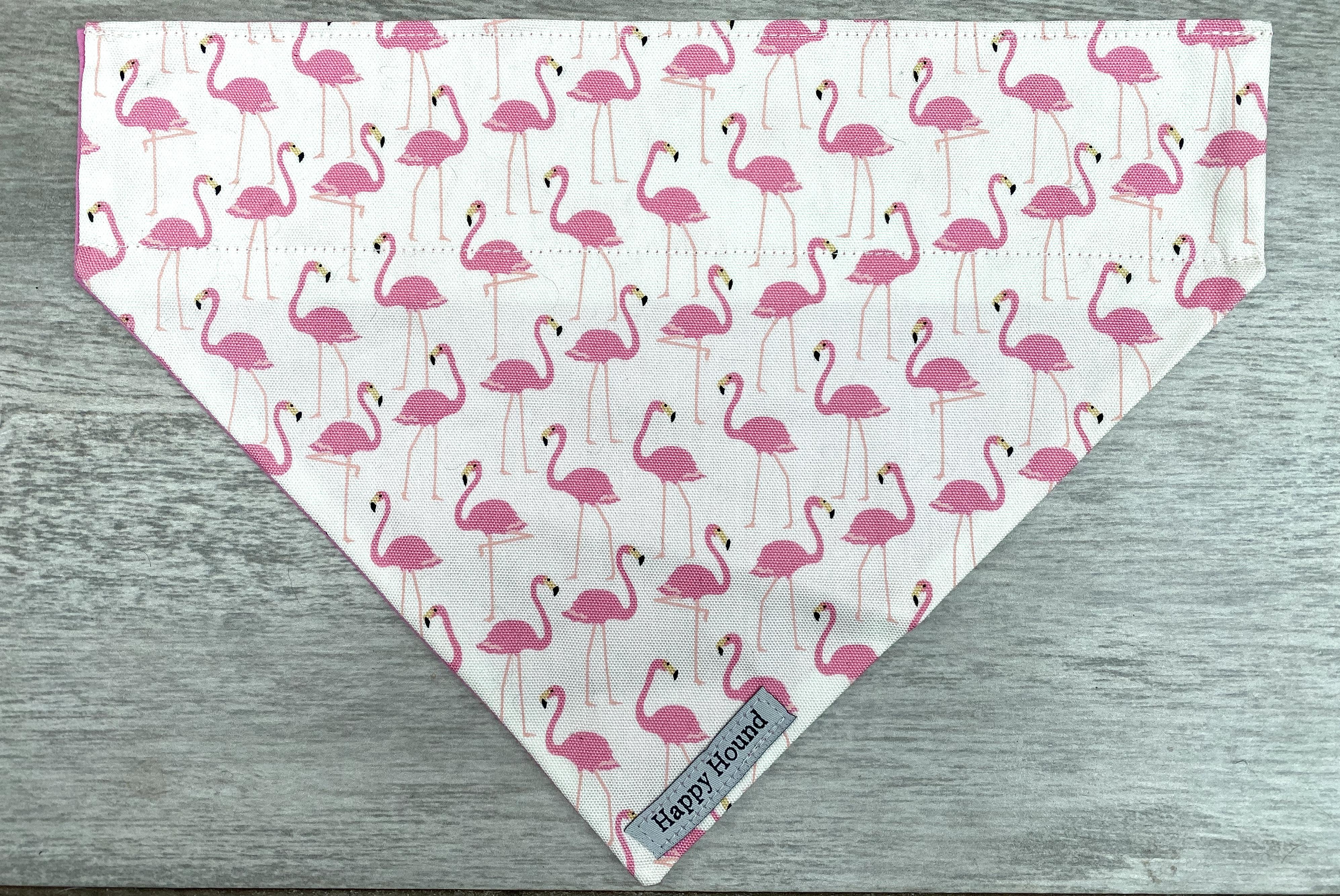 Dog Bandana – Flamingo