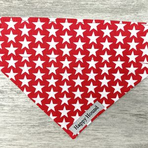 Dog Bandana – Red Star