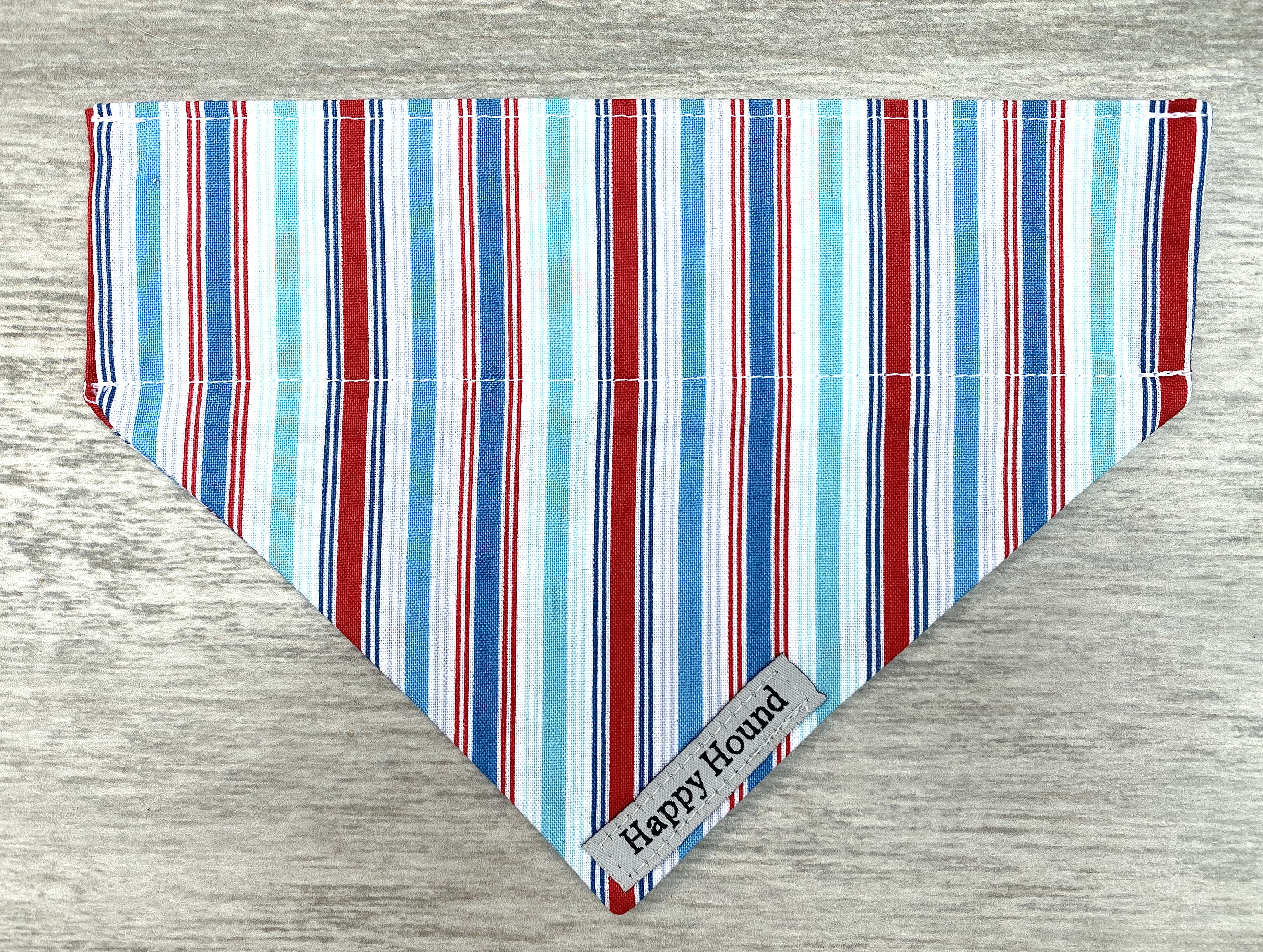 Dog Bandana – Deckchair Stripe