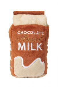 Chocolate Milk Dog Toy