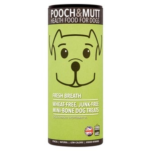 Pooch and Mutt Fresh Breath Mini Bone Treats