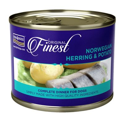 Fish 4 Dogs Finest Herring Wet Complete Food