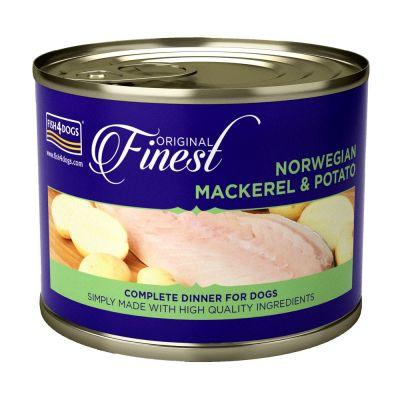 Fish 4 Dogs Finest Mackerel Wet Complete Food