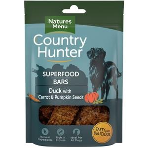 Natures Menu Superfood Bars Duck with Carrot & Pumpkin Seeds