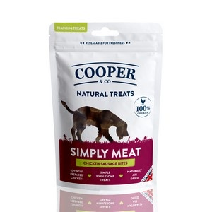 Cooper & Co Chicken Sausage Training Treats