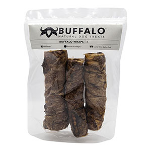 Buffalo Natural Dog Treats Buffalo Wraps