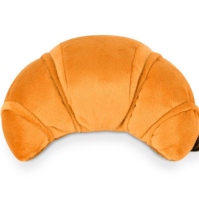 Croissant Plush Dog Toy