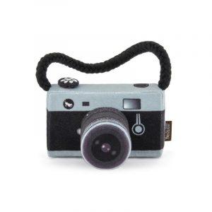 Camera Plush Dog Toy