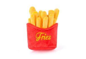 French Fries Plush Dog Toy