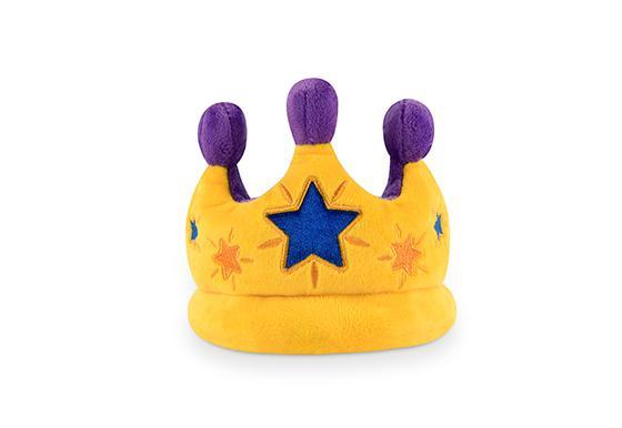 Party Time Canine Crown Plush Dog Toy